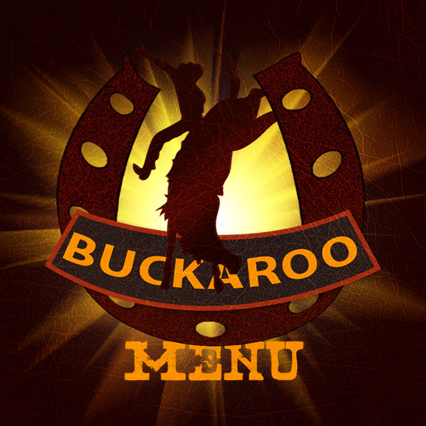 Buckaroo Menu Title Graphic