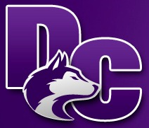 Douglas County Logo with Wolf