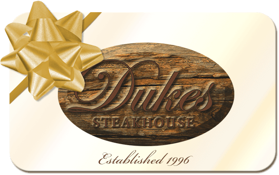Duke's Steakhouse Gift Cards